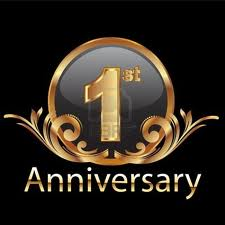 first anniversary 2